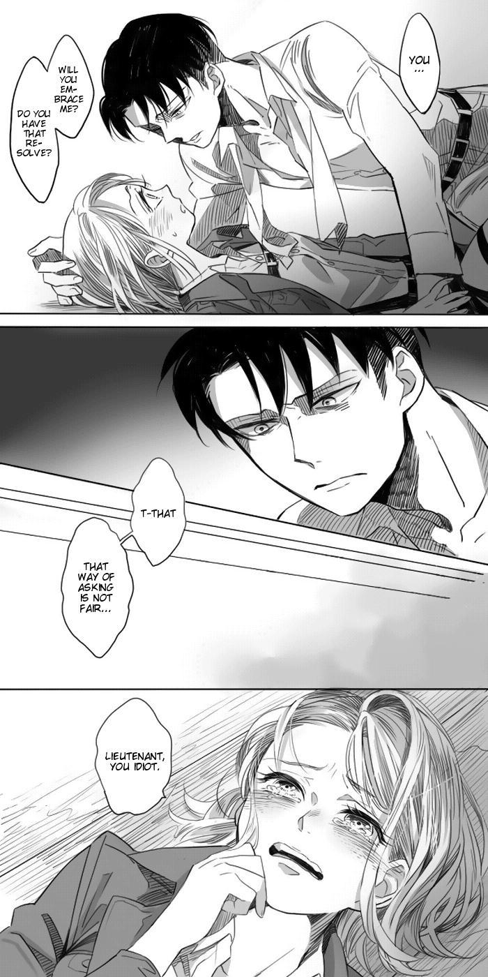 Levi × Petra Manga 9