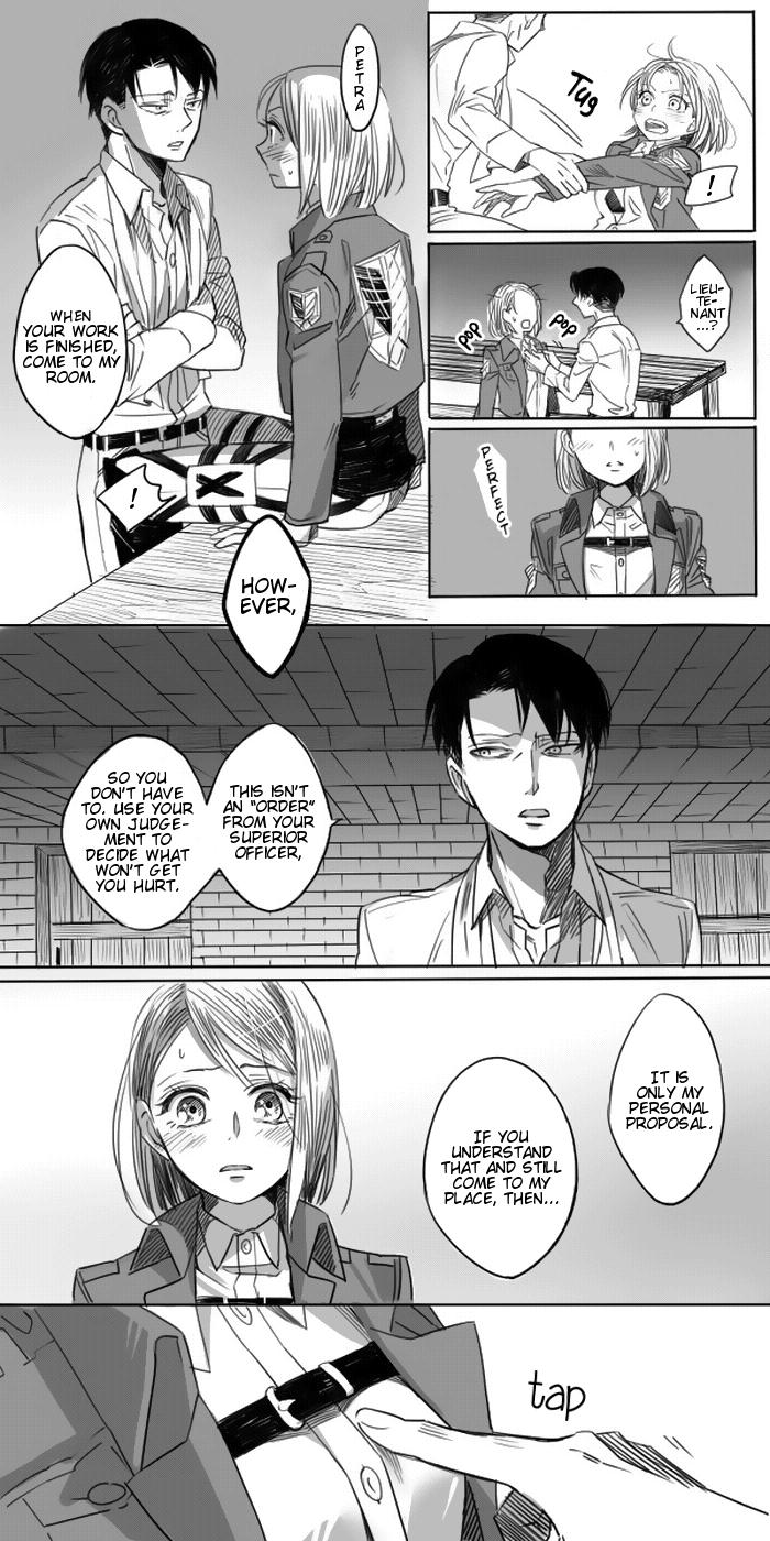Levi × Petra Manga 12