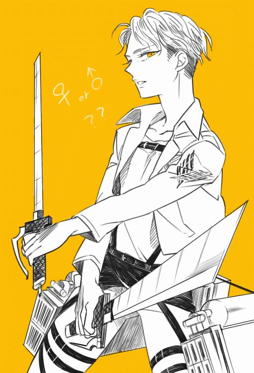 Levi × Petra Manga 16