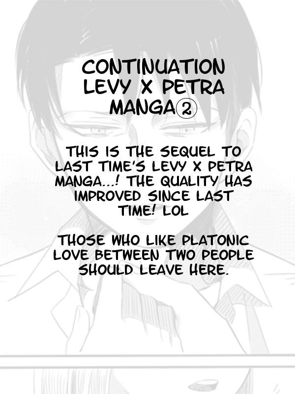Levi × Petra Manga 17