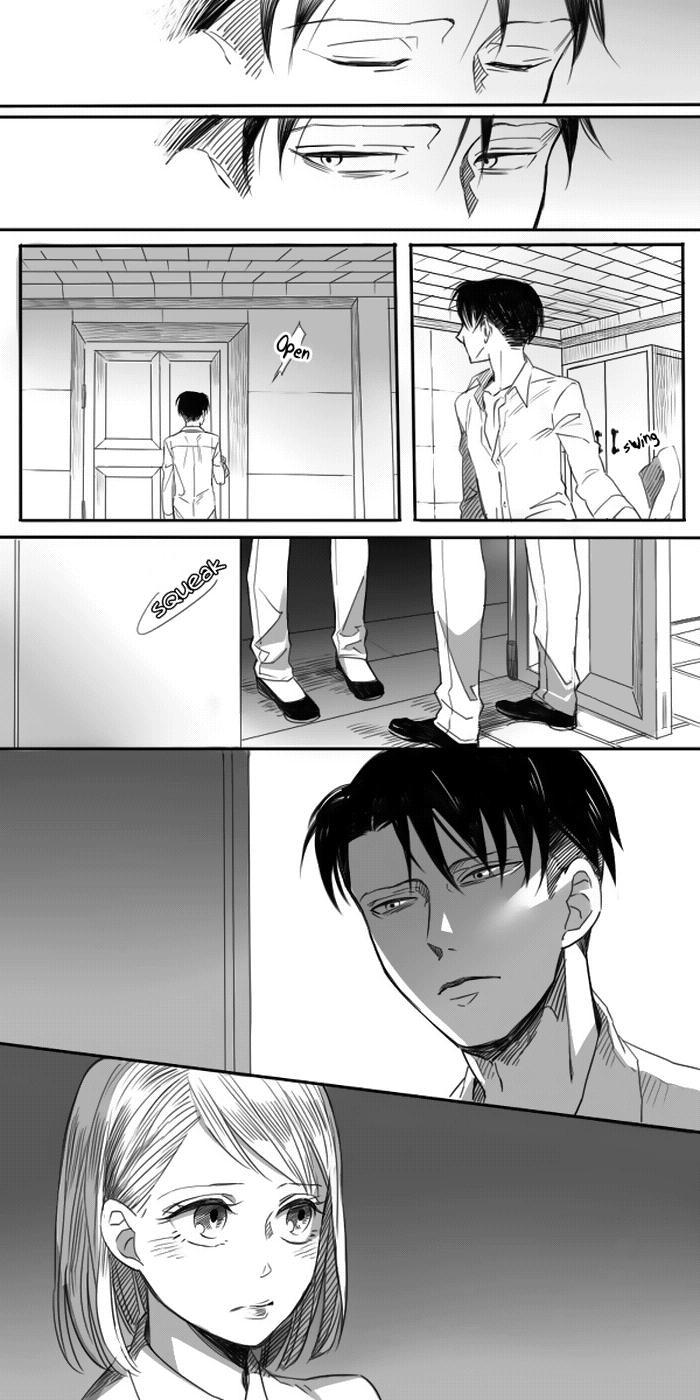Levi × Petra Manga 19
