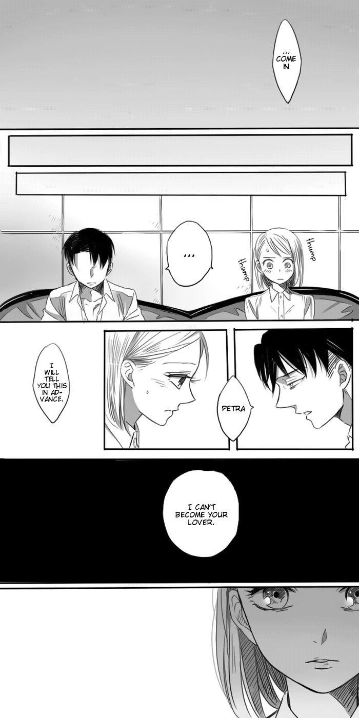 Levi × Petra Manga 20