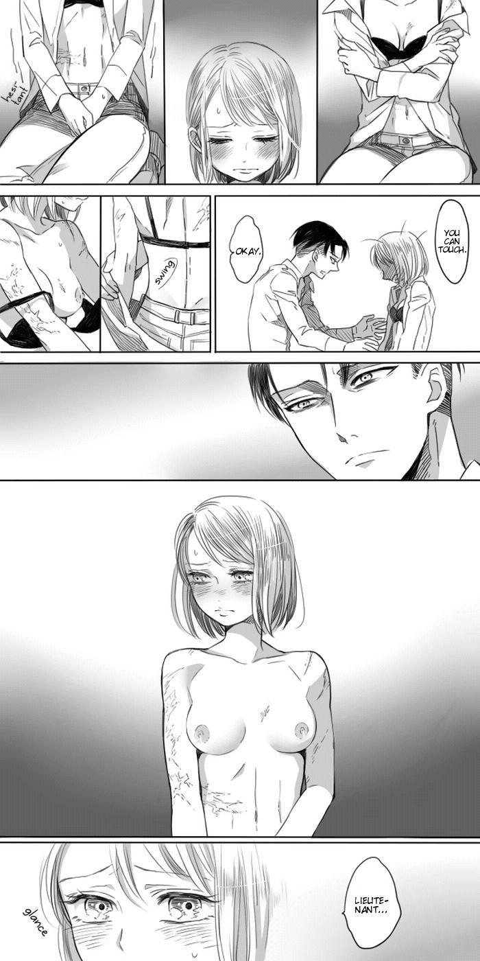 Levi × Petra Manga 40