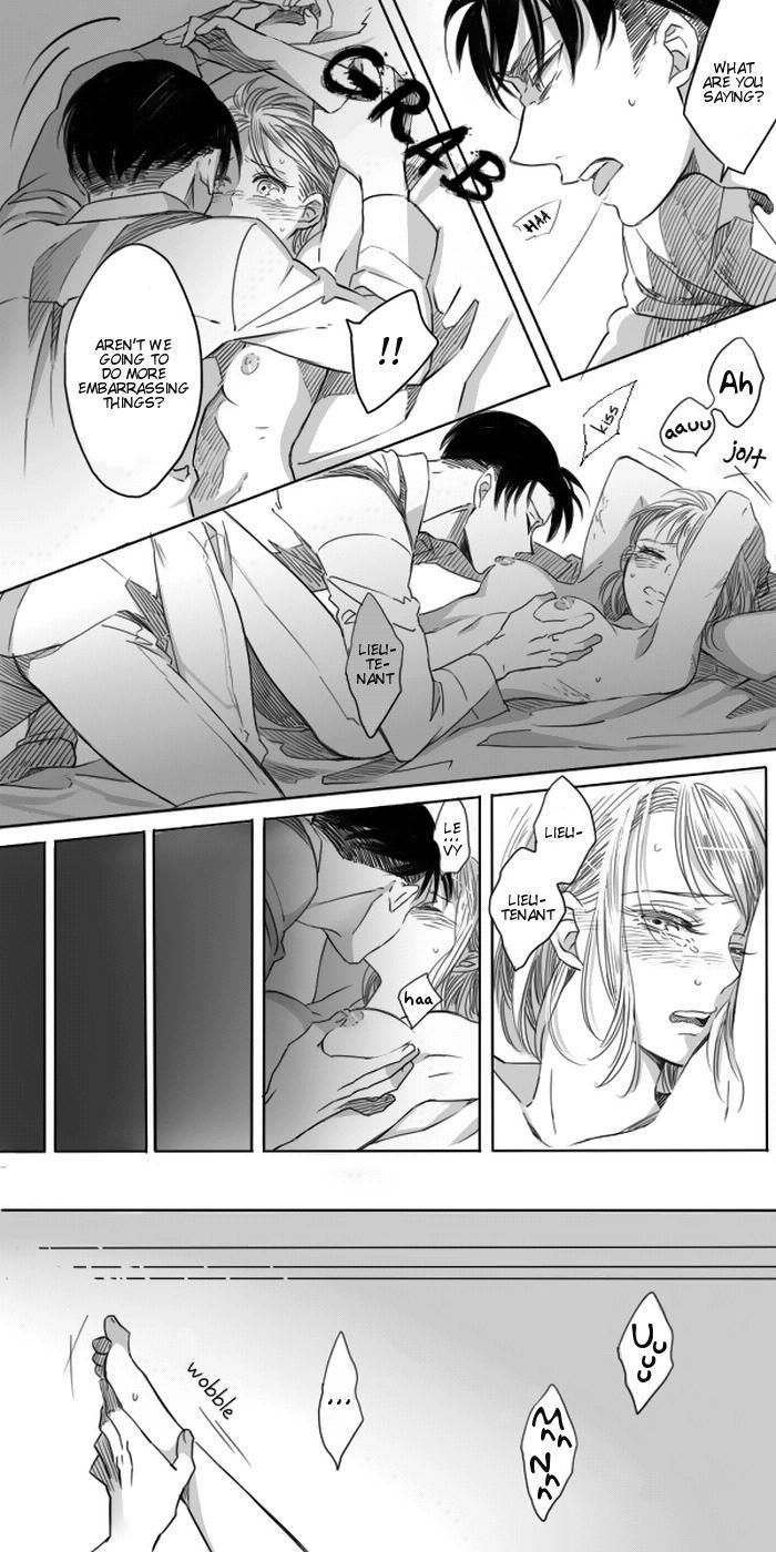 Levi × Petra Manga 42