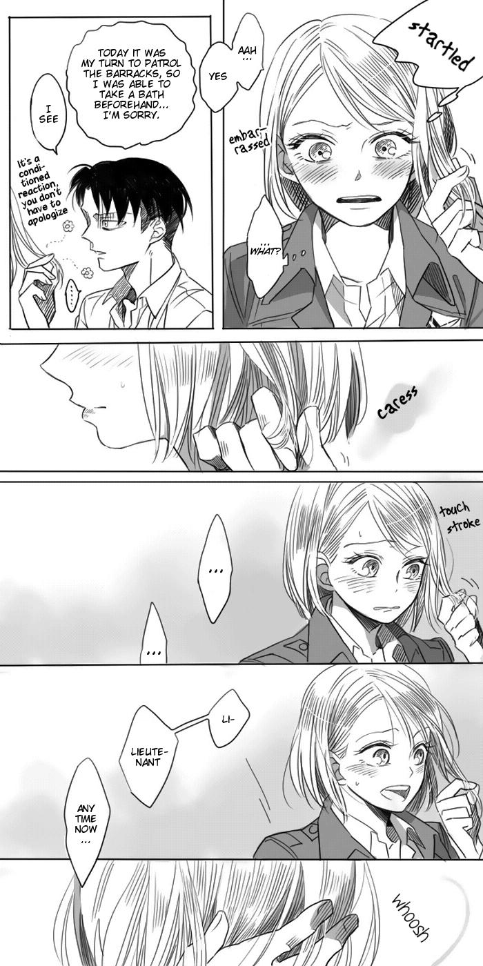 Levi × Petra Manga 4