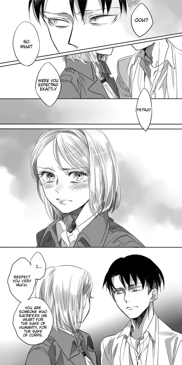 Levi × Petra Manga 6