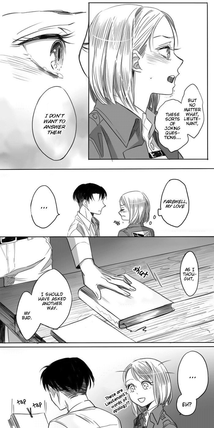 Levi × Petra Manga 7