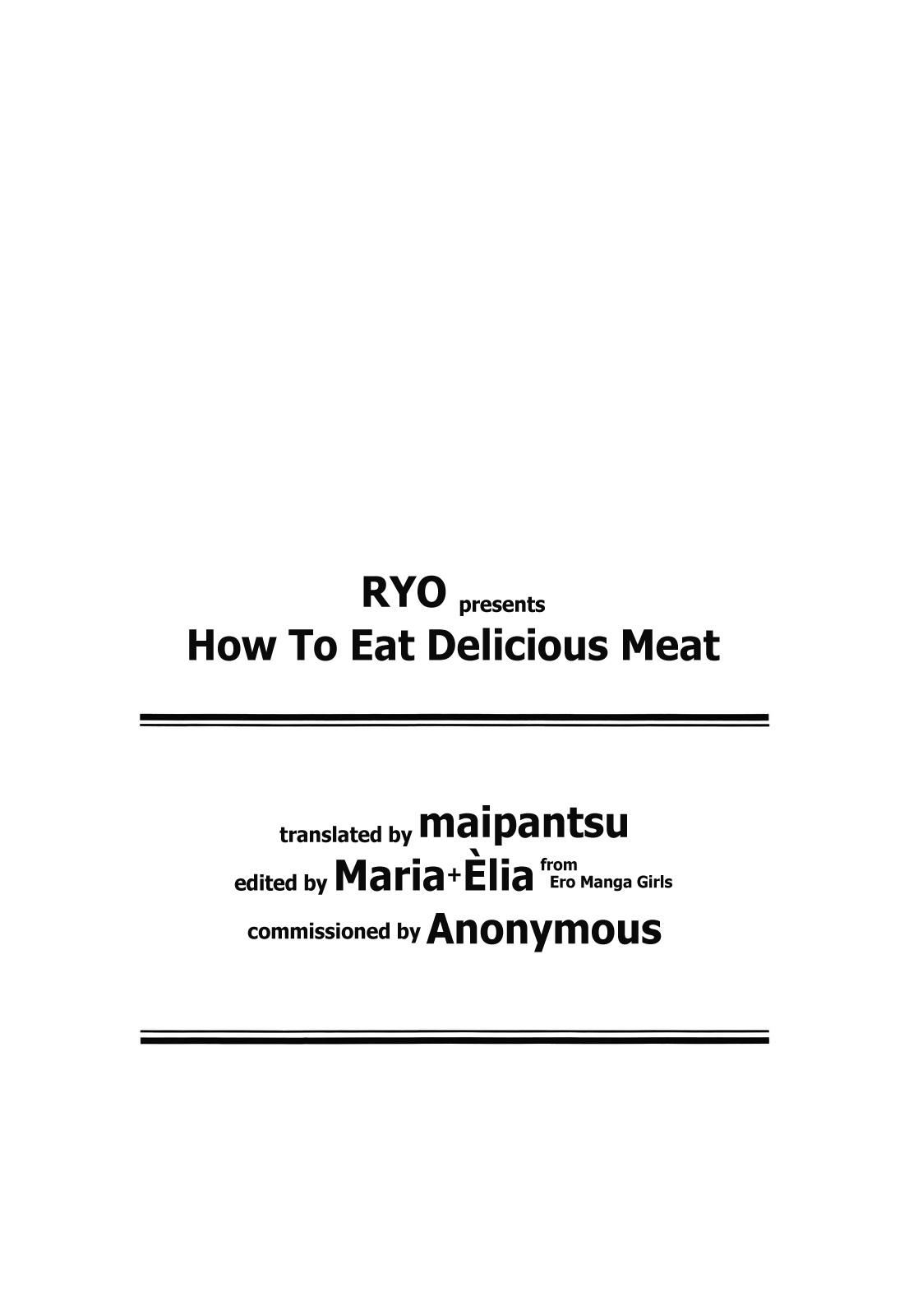 [Ryo] Oishii wo Niku no Meshiagari-kata   How To Eat Delicious Meat Ch. 1-4 [English] =Anonymous+maipantsu+EroMangaGirls= 63