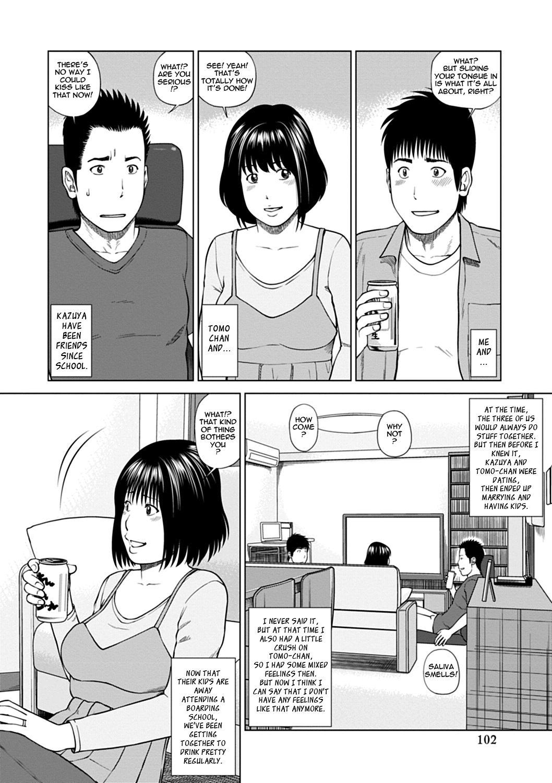 [Kuroki Hidehiko] 36-sai Injuku Sakari Tsuma   36-Year-Old Randy Mature Wife Ch. 1-6 [English] {Tadanohito} 101