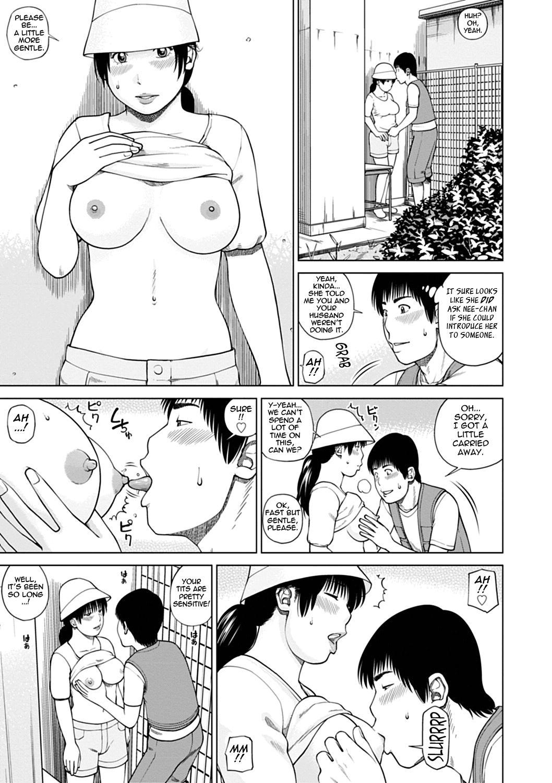 [Kuroki Hidehiko] 36-sai Injuku Sakari Tsuma   36-Year-Old Randy Mature Wife Ch. 1-6 [English] {Tadanohito} 90
