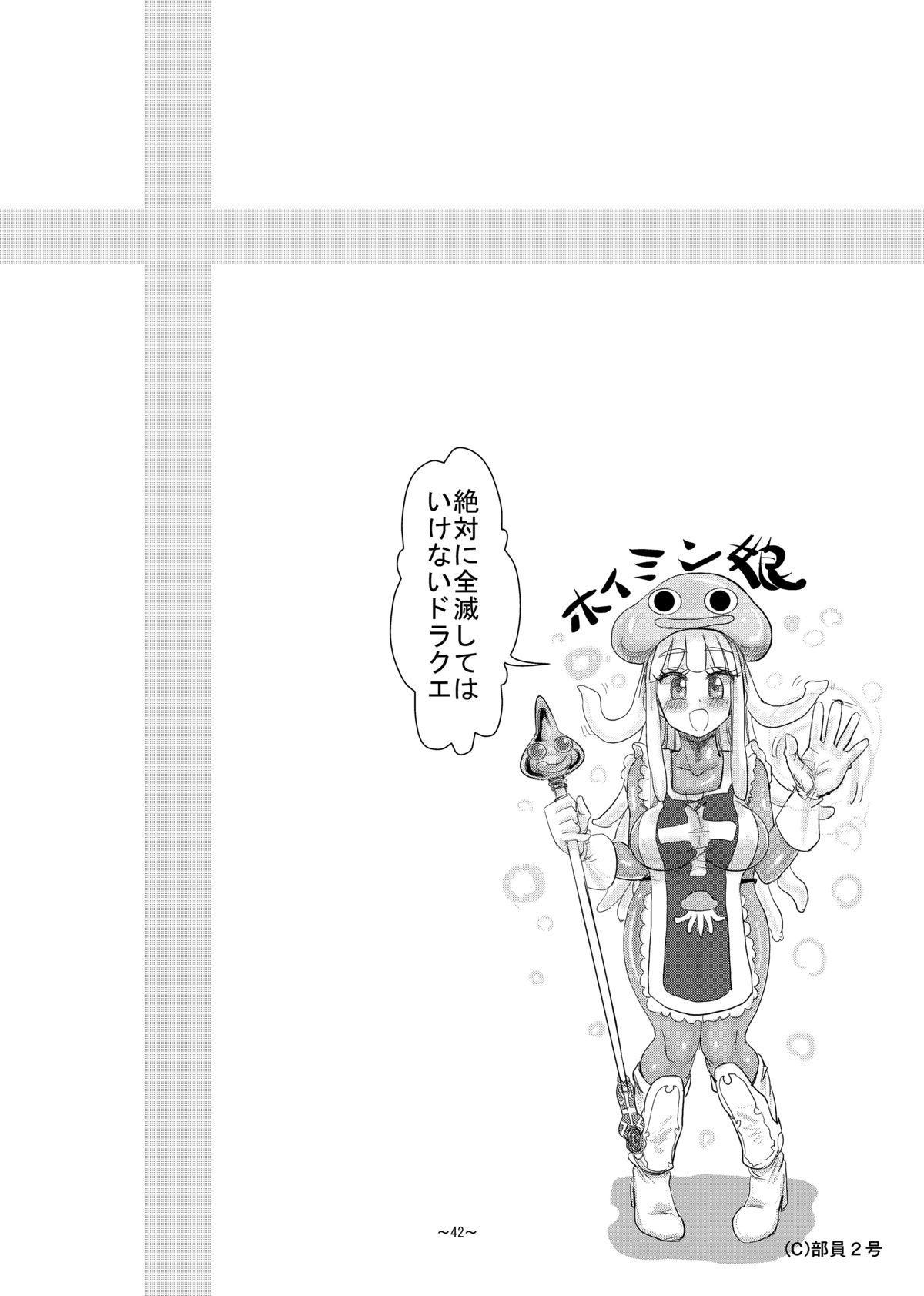 Zettai ni Zenmetsushite wa Ikenai DraQue 42