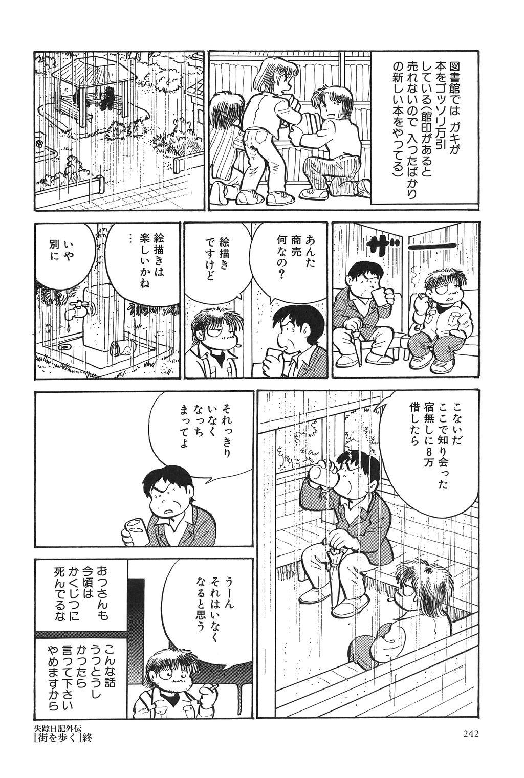 Azuma Hideo Sakuhin Shuusei - Yoru no Tobari no Naka de 244