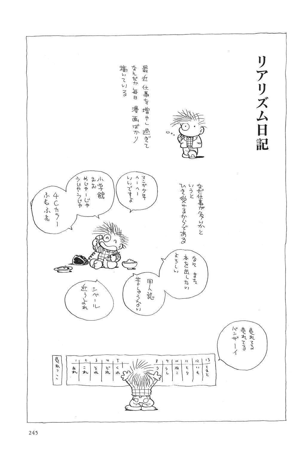 Azuma Hideo Sakuhin Shuusei - Yoru no Tobari no Naka de 247