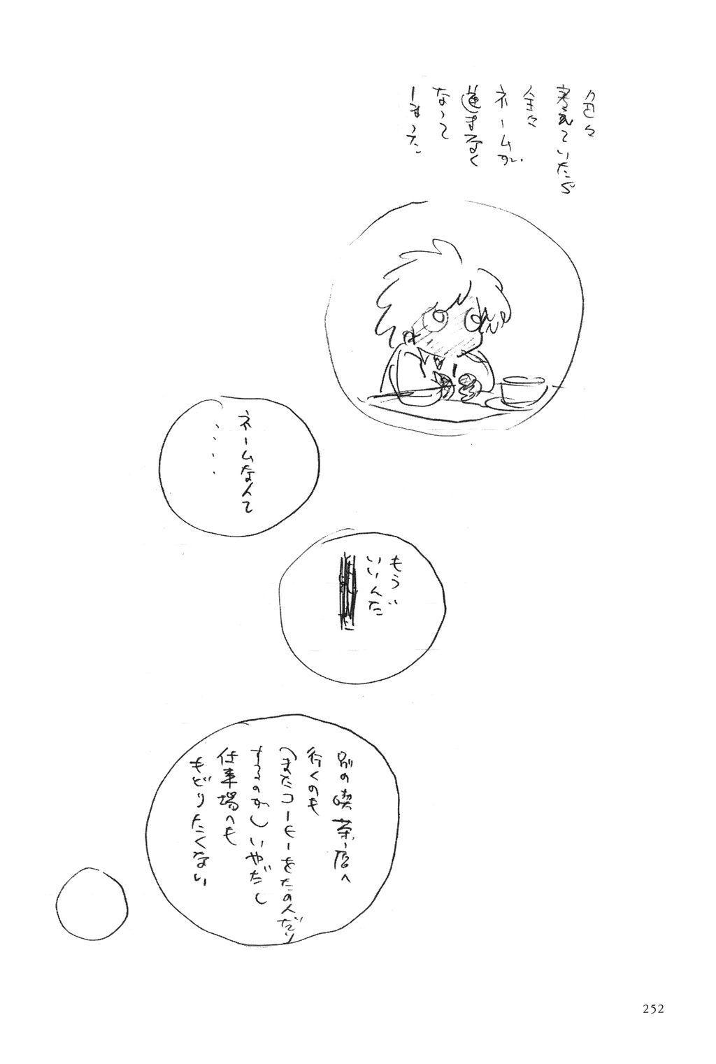 Azuma Hideo Sakuhin Shuusei - Yoru no Tobari no Naka de 254