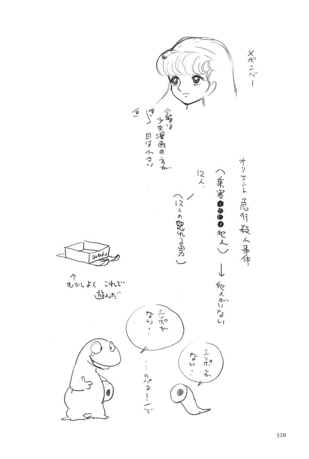 Azuma Hideo Sakuhin Shuusei - Yoru no Tobari no Naka de 321
