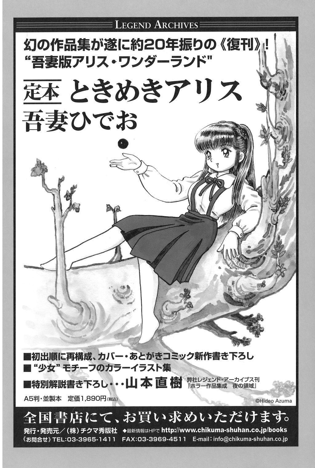 Azuma Hideo Sakuhin Shuusei - Yoru no Tobari no Naka de 344