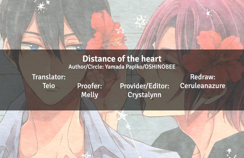 Distance of the heart 30