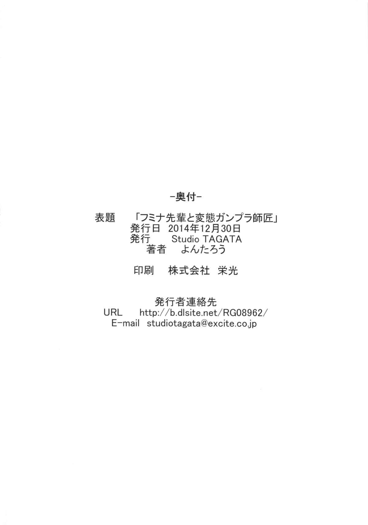 Fumina Senpai to Hentai Gunpla Shishou 24
