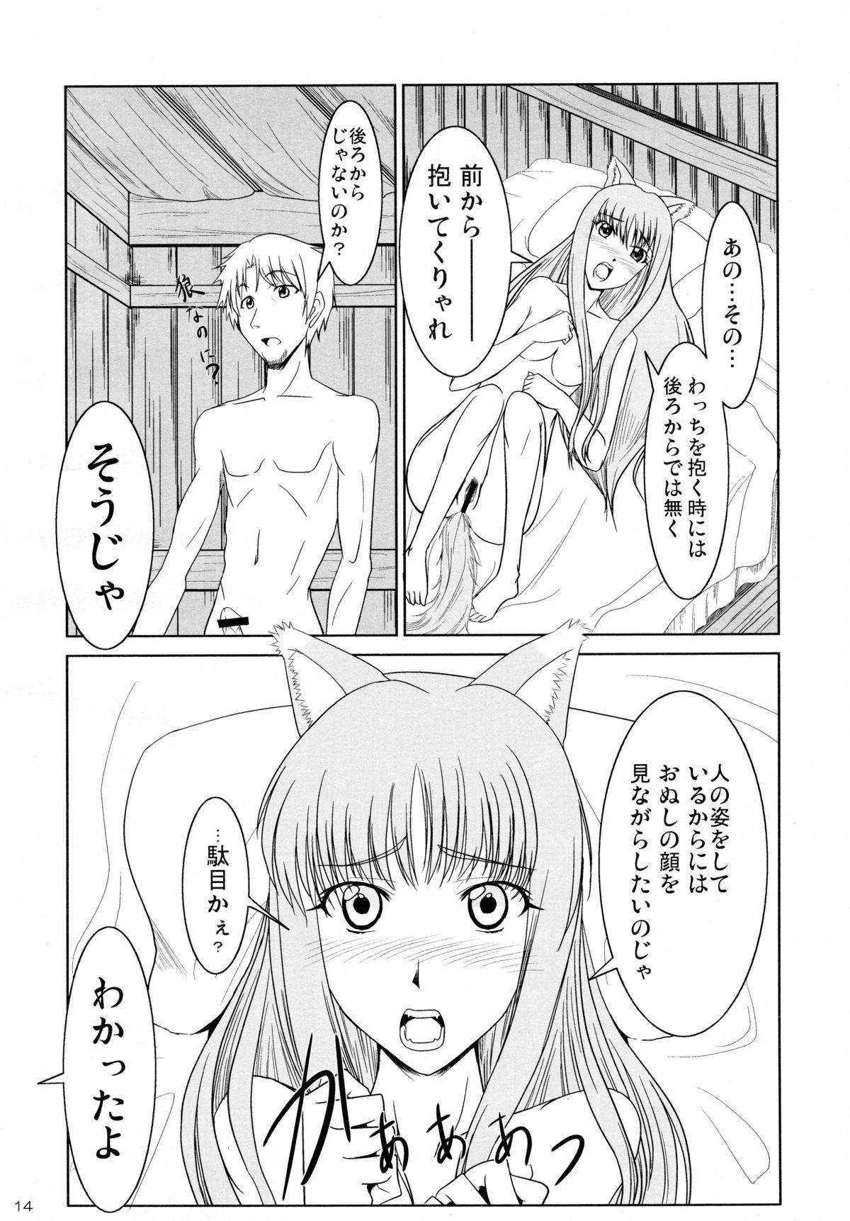 Ookami to Ringo no Hachimitsuzuke 13