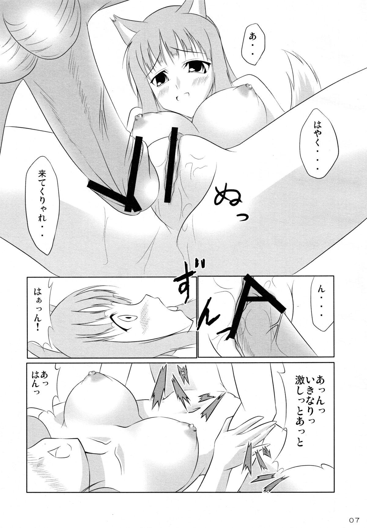 Ookami to Ringo no Hachimitsuzuke 6