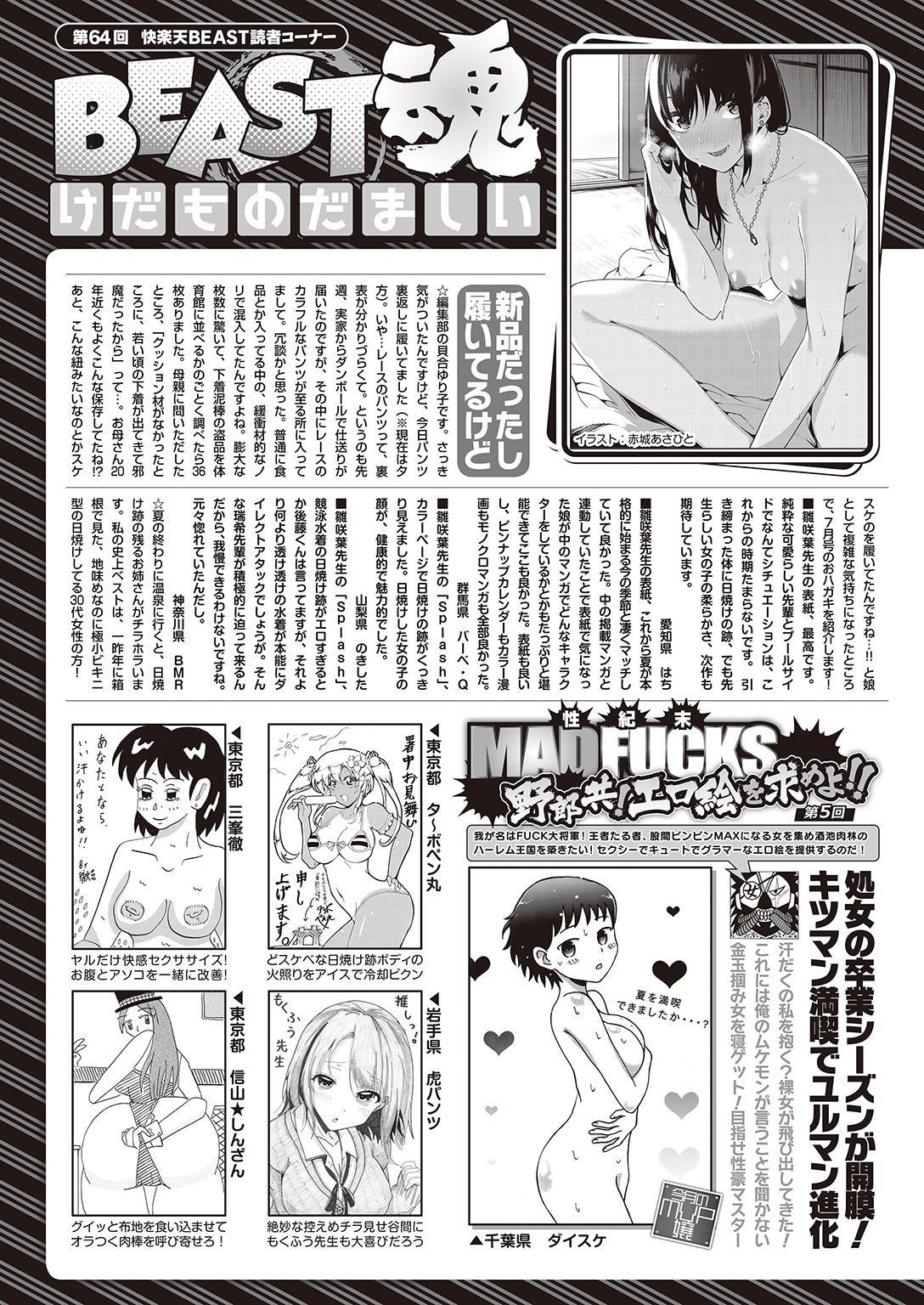 COMIC Kairakuten Beast 2016-09 326
