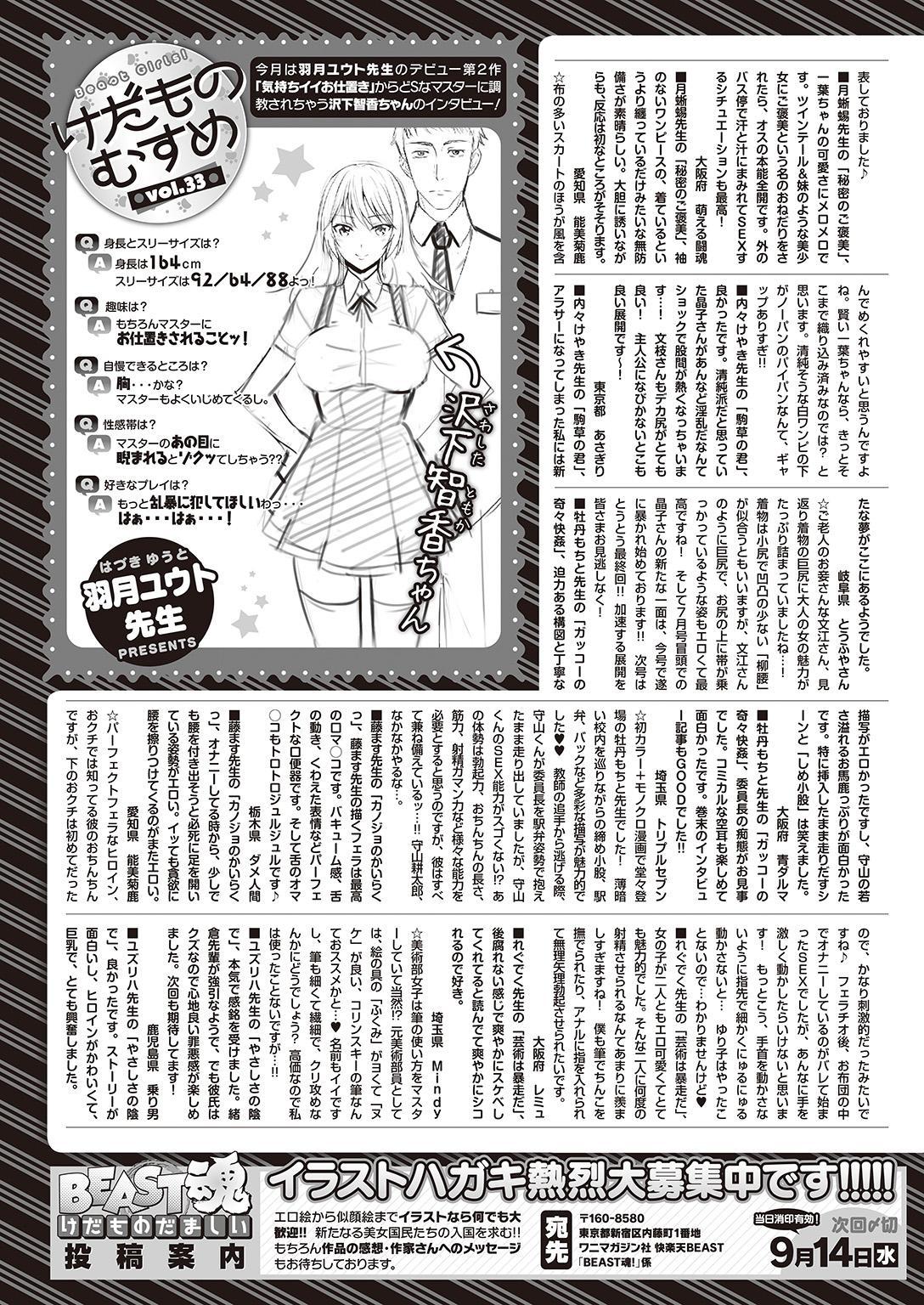 COMIC Kairakuten Beast 2016-09 328