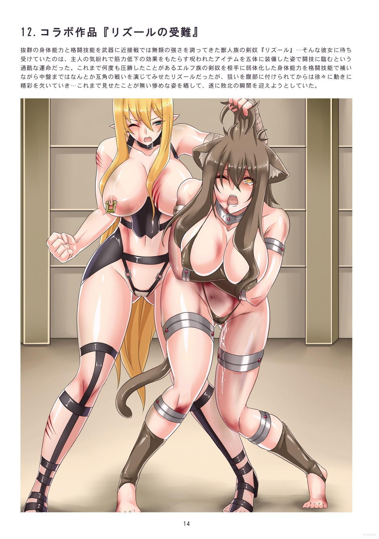 Hajimete no Kakutou Shikkin 13