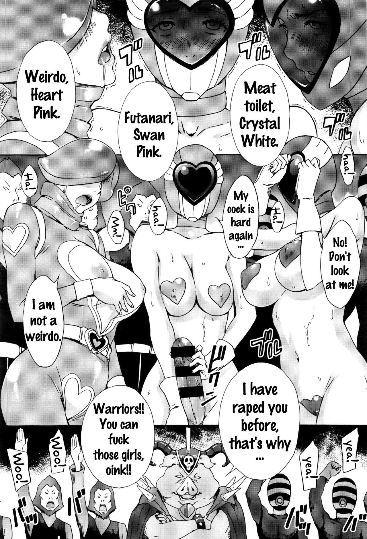 [Amano Ameno] Dai Buta Shougun no Gyakugeki ~Superheroine Taisen~ | Pig General's Counter Attack (COMIC Anthurium 2016-09) [English] {doujins.com} 11