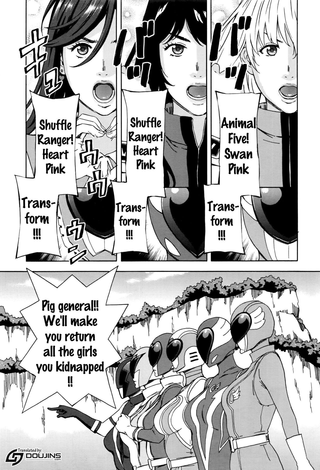 [Amano Ameno] Dai Buta Shougun no Gyakugeki ~Superheroine Taisen~ | Pig General's Counter Attack (COMIC Anthurium 2016-09) [English] {doujins.com} 1