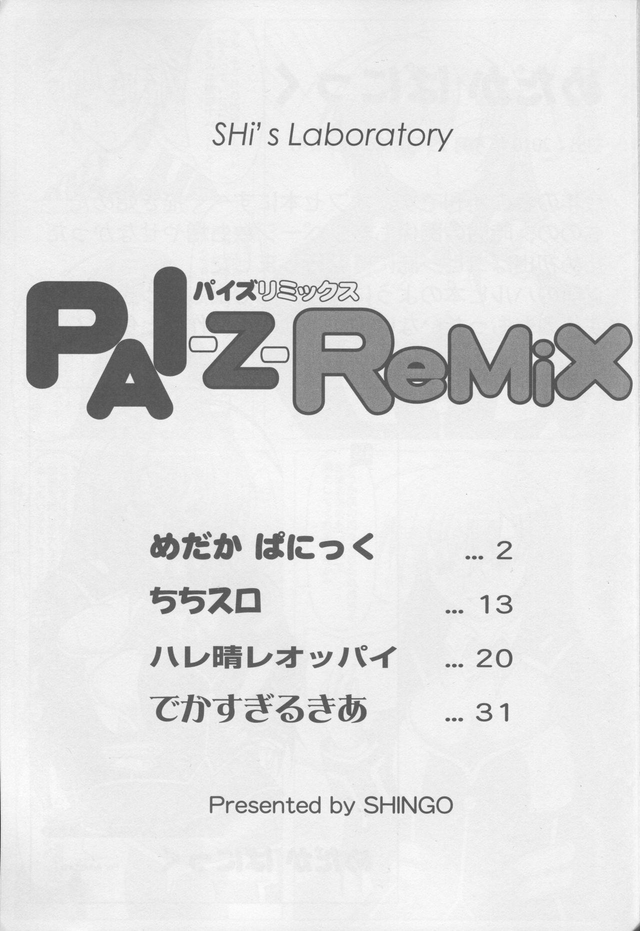 (Tora Matsuri 2010) [SHi's Laboratory (SHINGO)] PAI-Z-ReMix (Various) 1