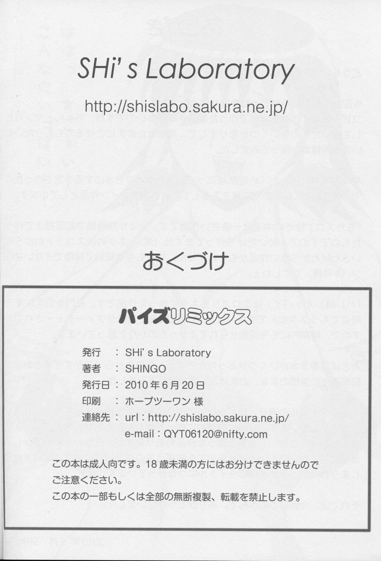 (Tora Matsuri 2010) [SHi's Laboratory (SHINGO)] PAI-Z-ReMix (Various) 40