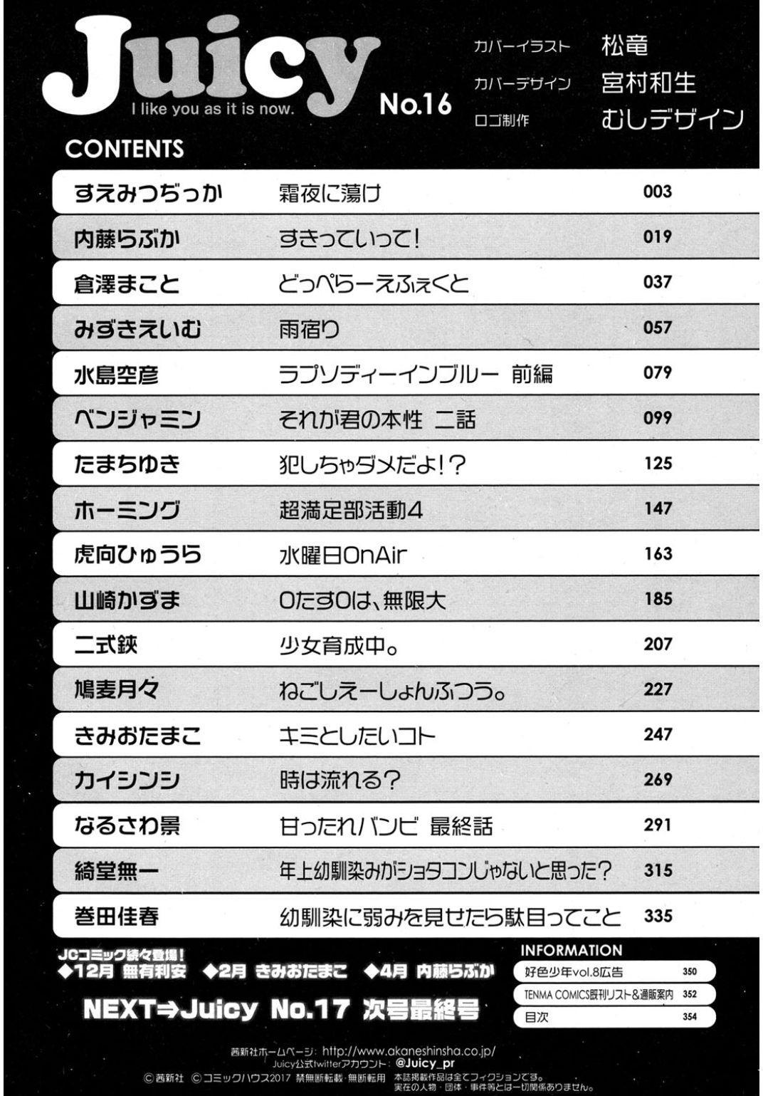 Juicy No. 16 2017-01 352