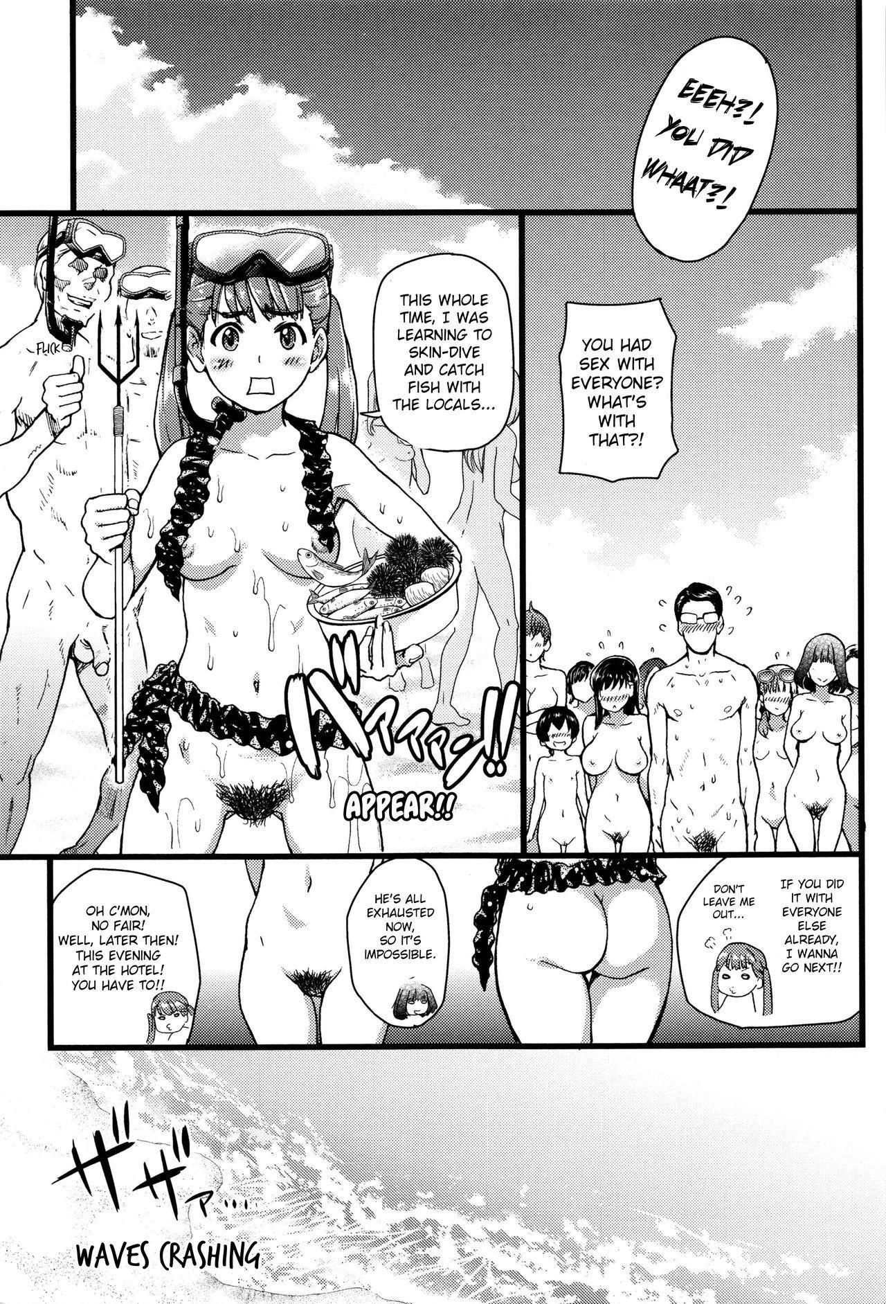 Nudist Beach ni Syuugaku Ryokoude!! - In school trip to the nudist beach!! 221