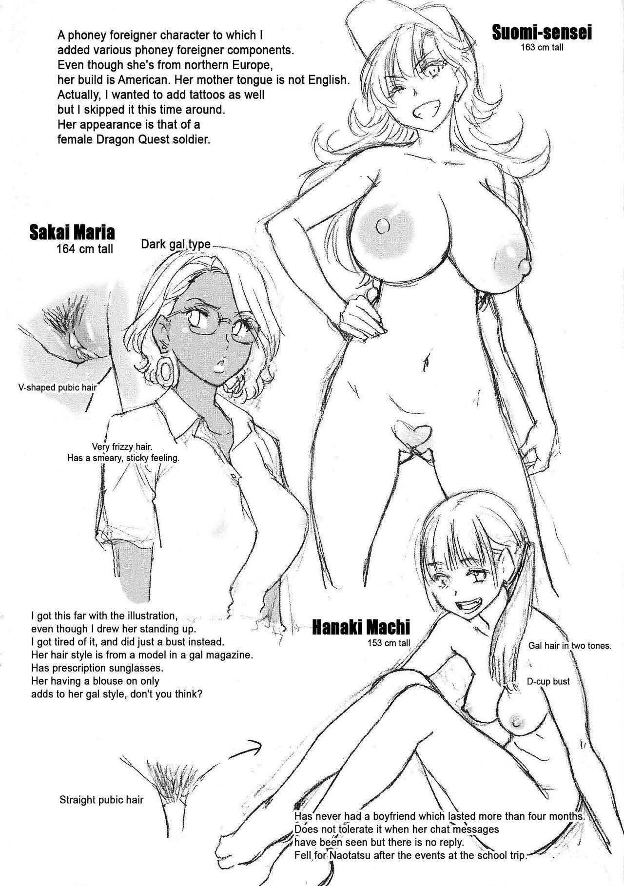 Nudist Beach ni Syuugaku Ryokoude!! - In school trip to the nudist beach!! 252