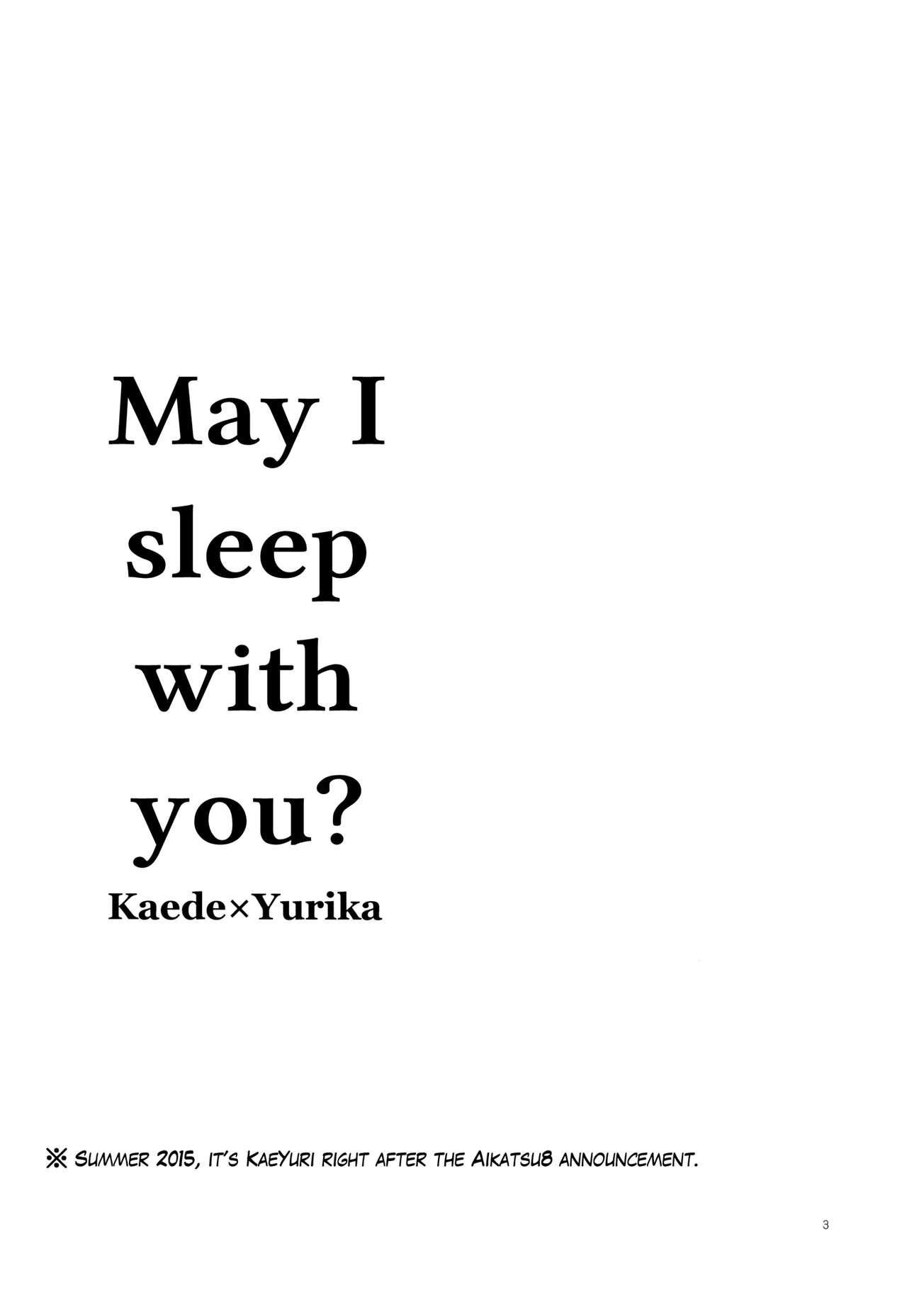 Issho ni Nete mo Ii desu ka? | May I sleep with you 2