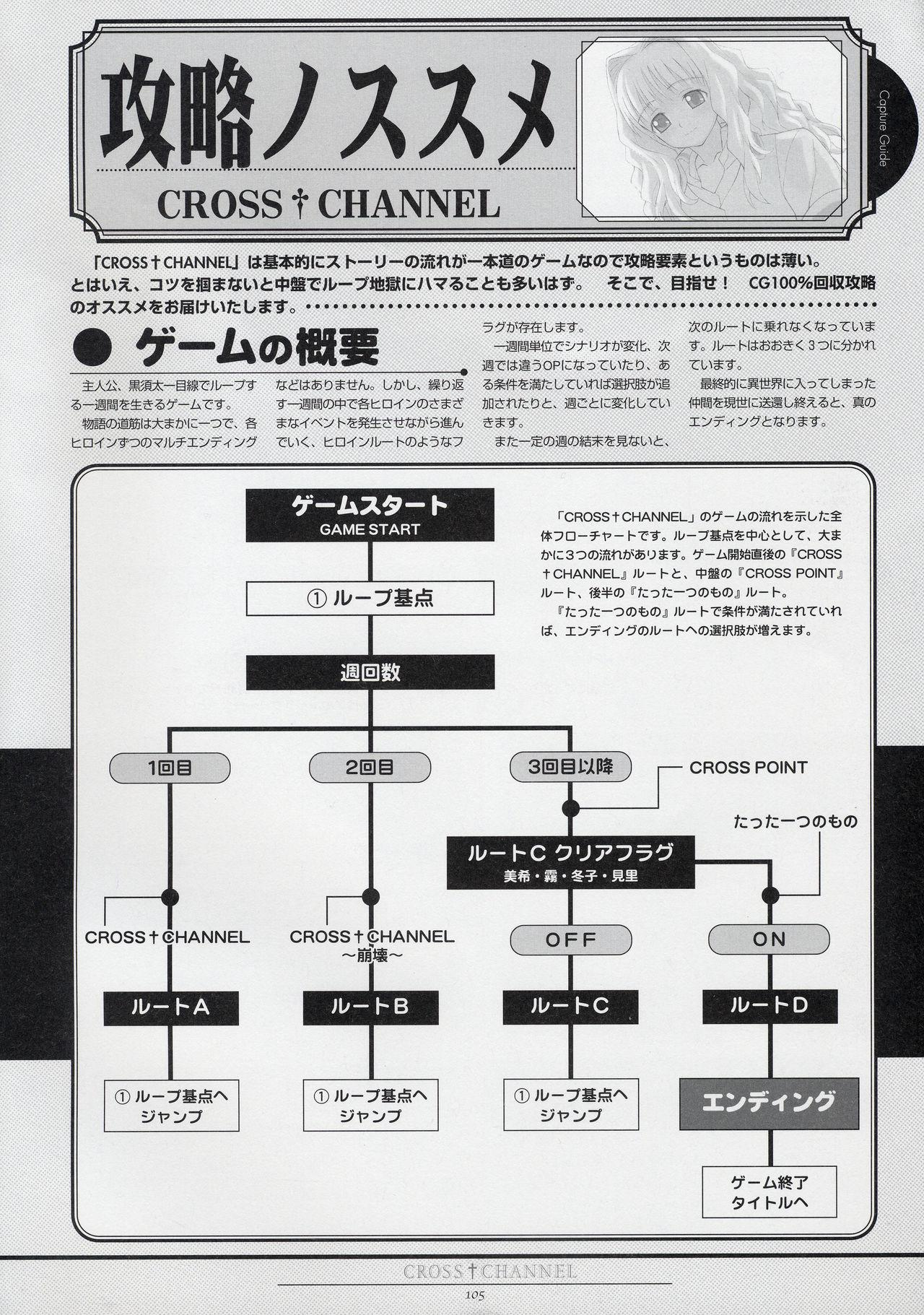 CROSS†CHANNEL Official Setting Materials 115