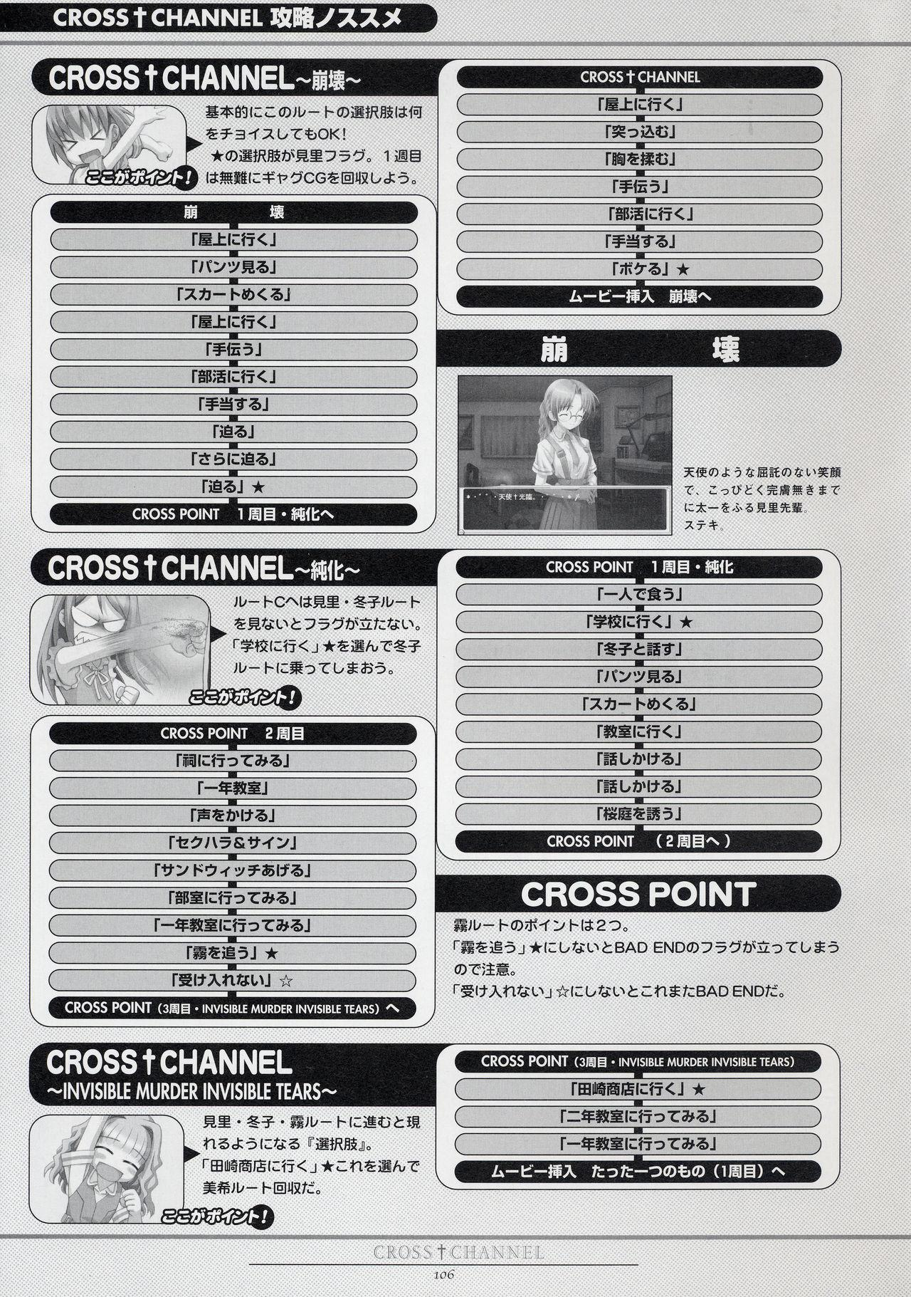 CROSS†CHANNEL Official Setting Materials 116