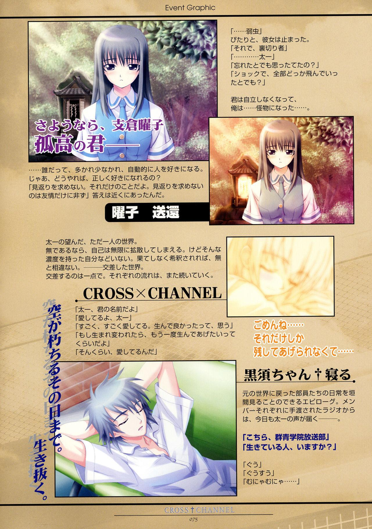 CROSS†CHANNEL Official Setting Materials 85
