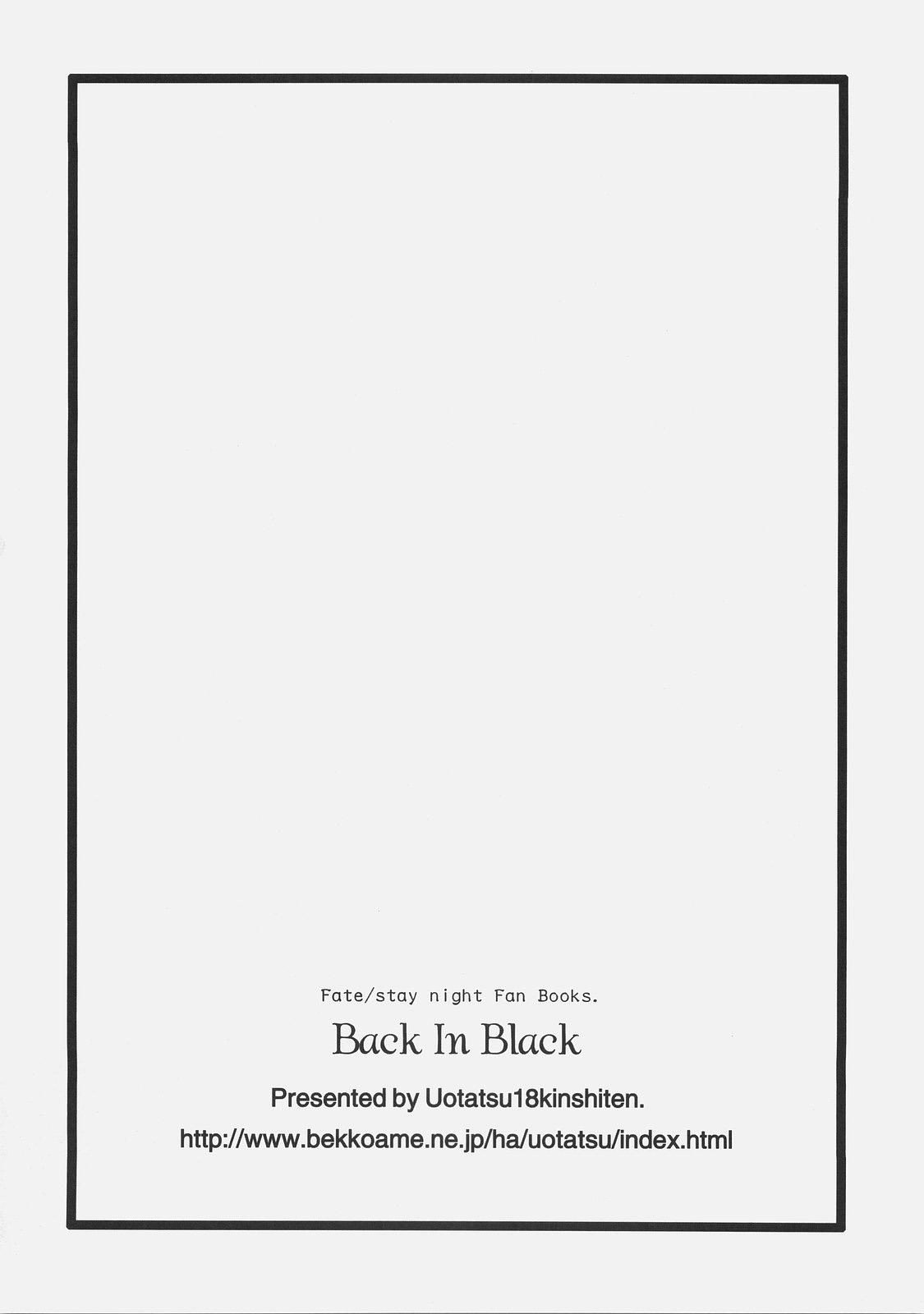 Back in Black 32