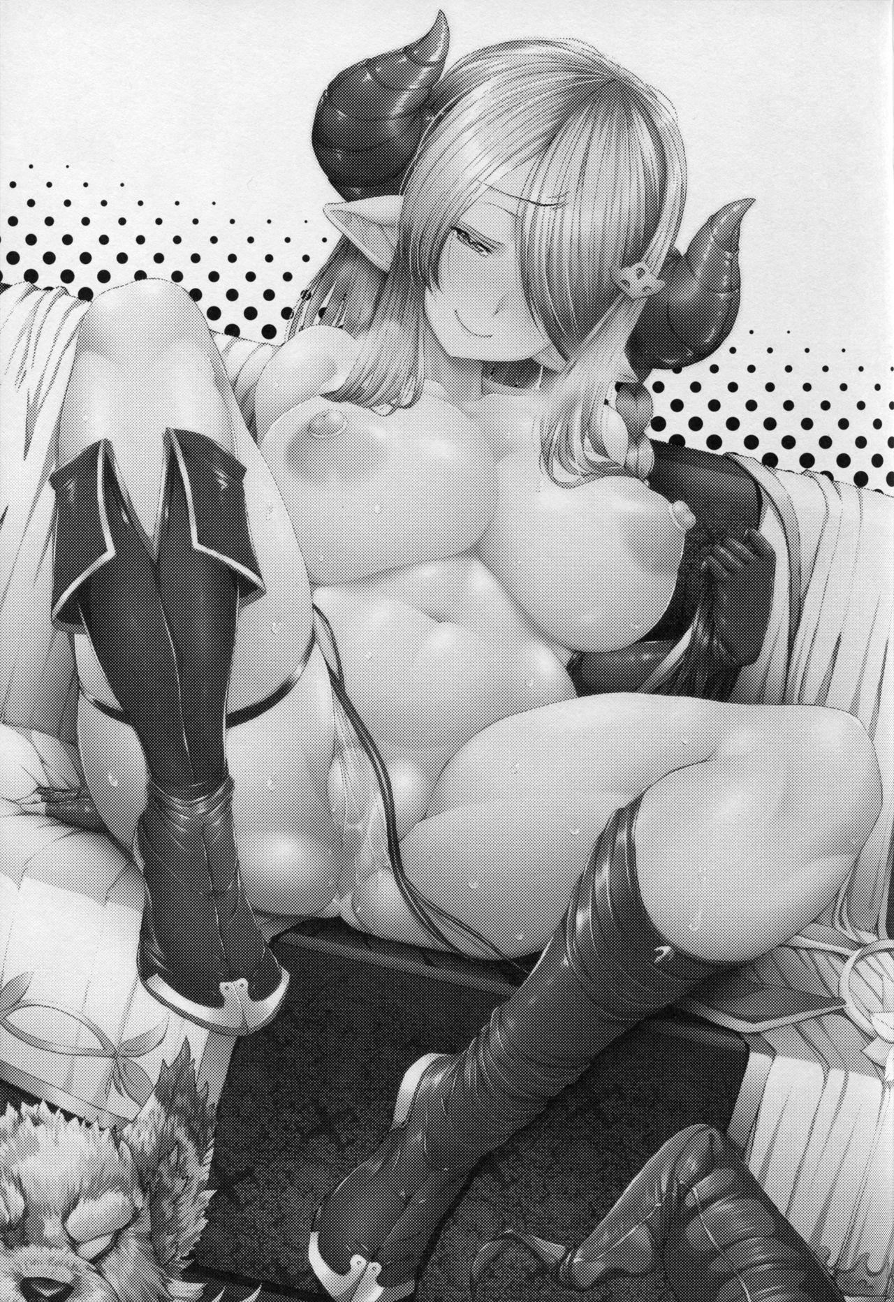 (C91) [Deastim (Unadon)] Nee Nee Danchou-chan Onee-san ni Nani Kite Hoshii? | Hey, Hey, Danchou-chan What Would You Want Onee-san to Wear? (Granblue Fantasy) [English] [obsoletezero] 1
