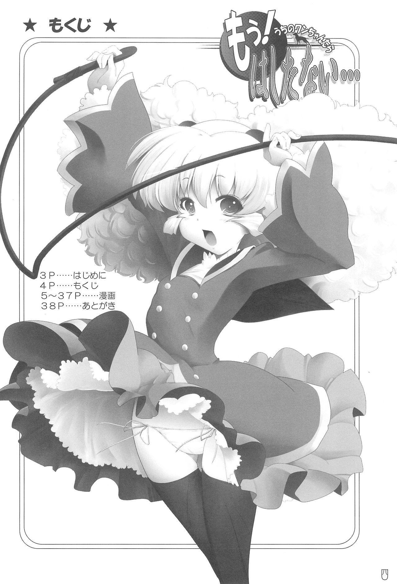 Mou! Uchi no Wan-chan tara Hashitanai... 3