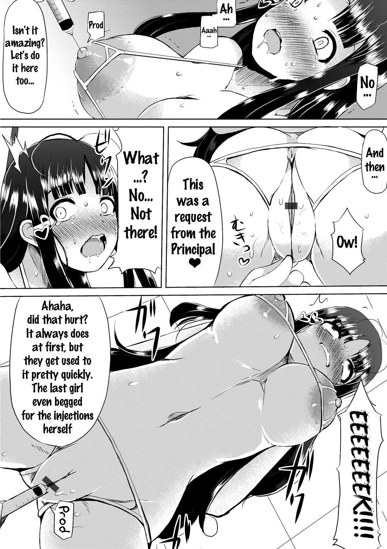 [Lilithlauda] Kyonyuu Yuutousei ~Do-M no Inran Mesubuta ni Daihenshin!~ Ch. 1-4 [English] {doujins.com} [Digital] 25