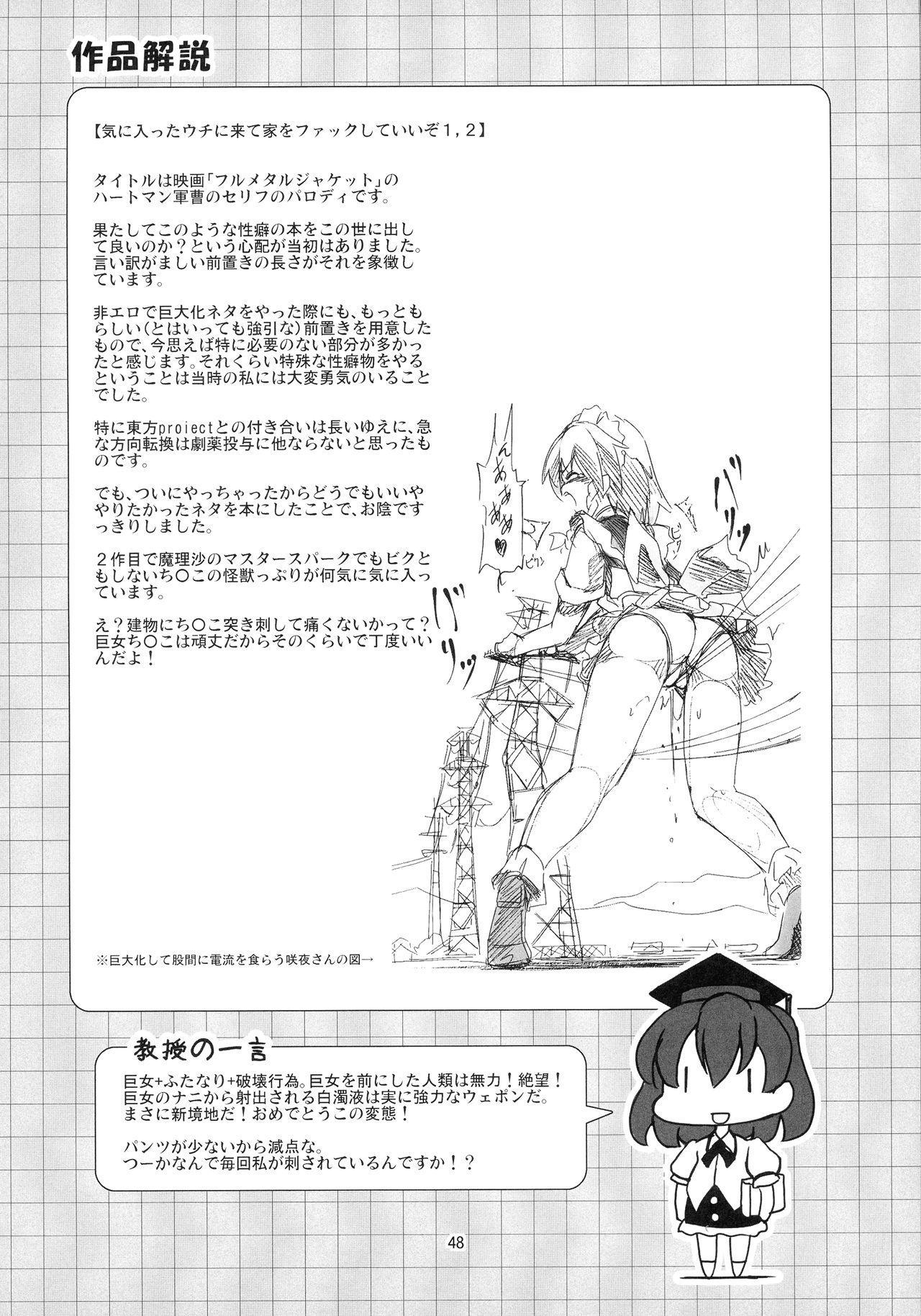 Shameimaru Kyouju no Hiritsuteki Aijou 47
