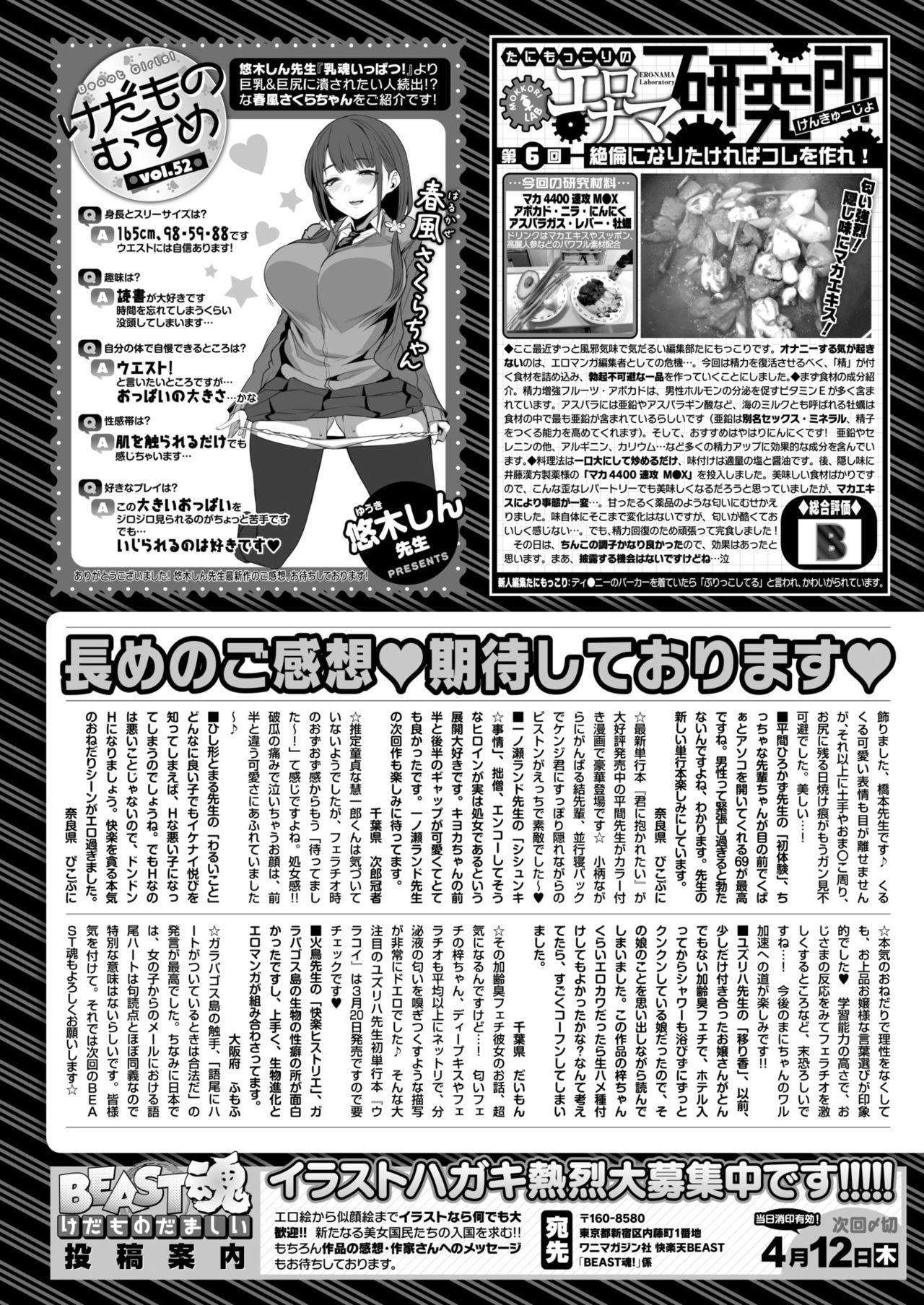 COMIC Kairakuten BEAST 2018-04 294