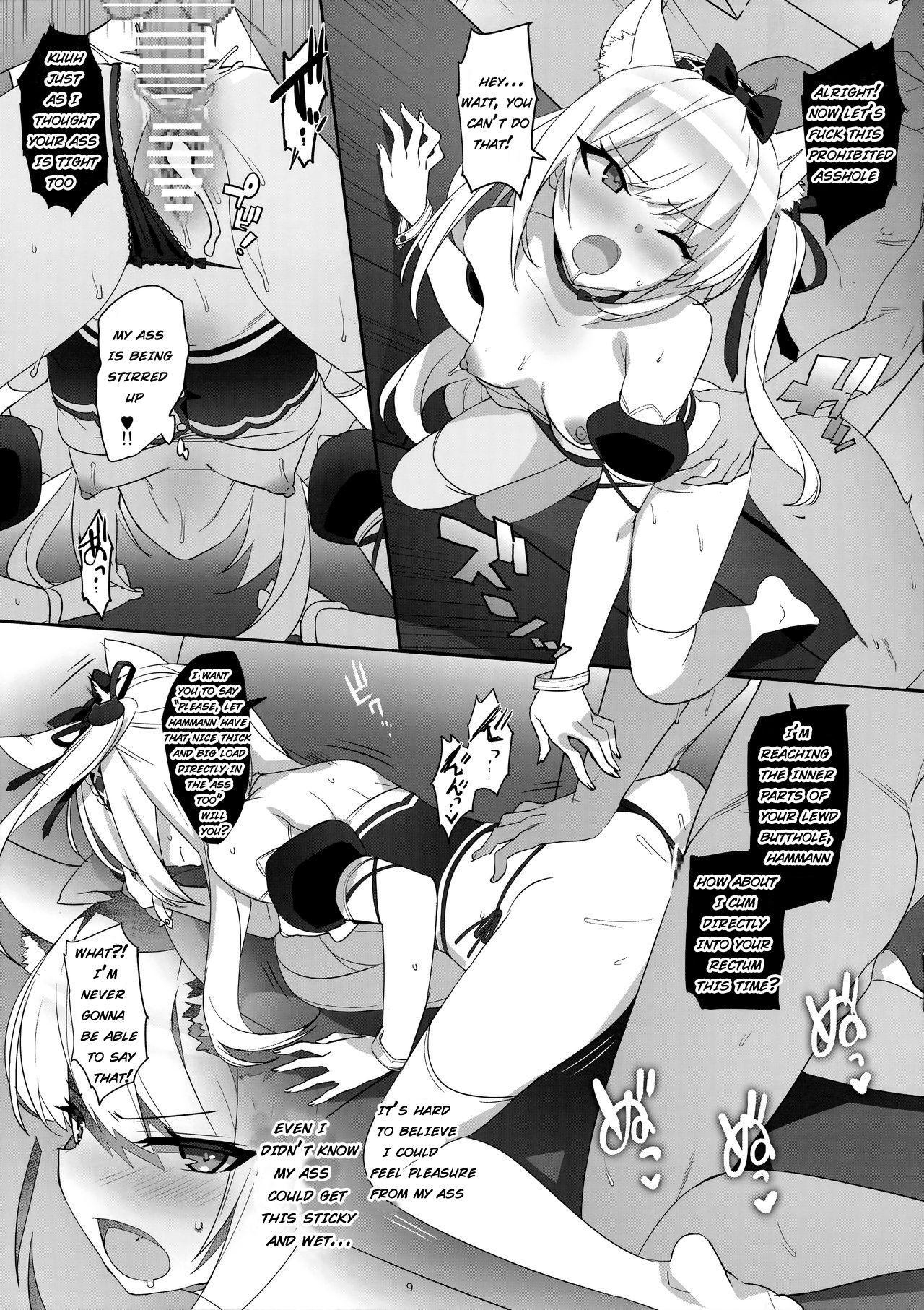 Kaikin! Namaiki Hammann | Unforbidden! Hammann's raw orgasm 8