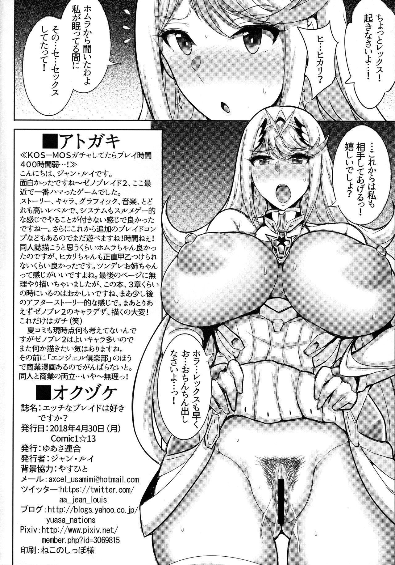 Ecchi na Blade wa Suki desu ka? 16