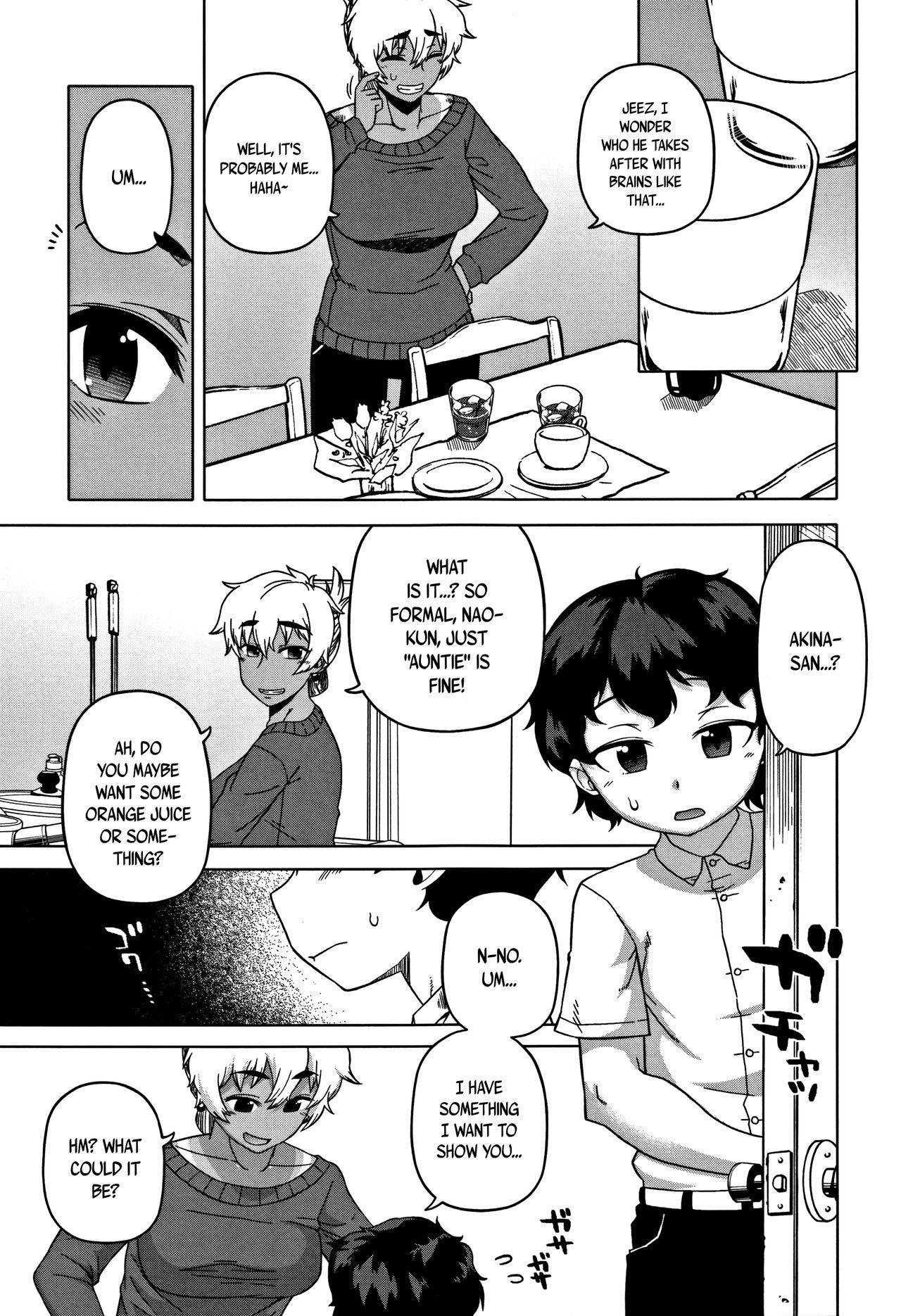 [Takatsu] Hitozuma A-san to Musuko no Yuujin N-kun - Married wife A and son's friend N-kun Ch. 1-3 [English] 10