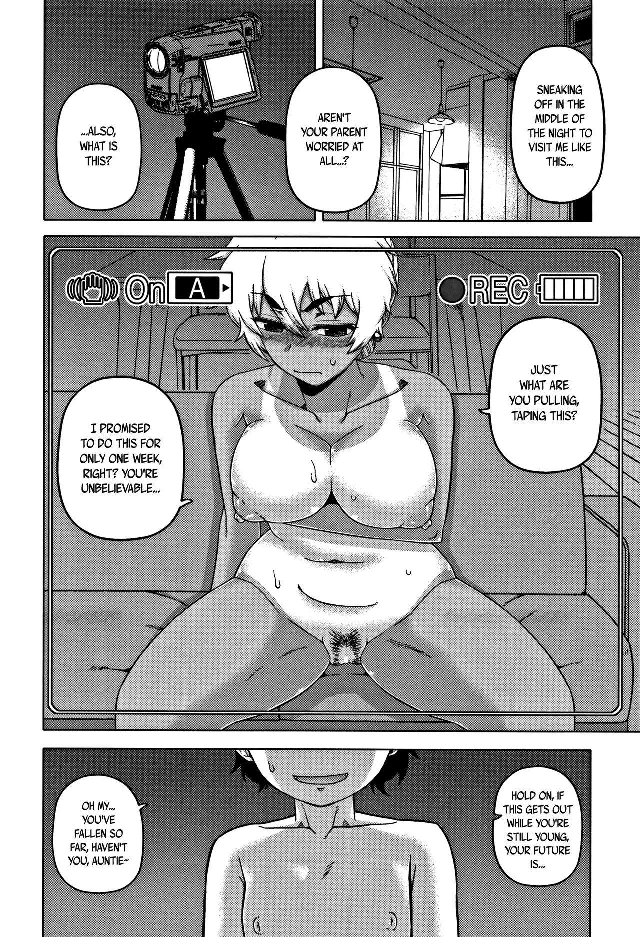 [Takatsu] Hitozuma A-san to Musuko no Yuujin N-kun - Married wife A and son's friend N-kun Ch. 1-3 [English] 29