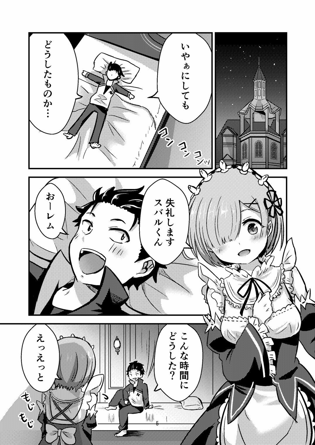 Rem ga Hitohada Nugimasu! 3
