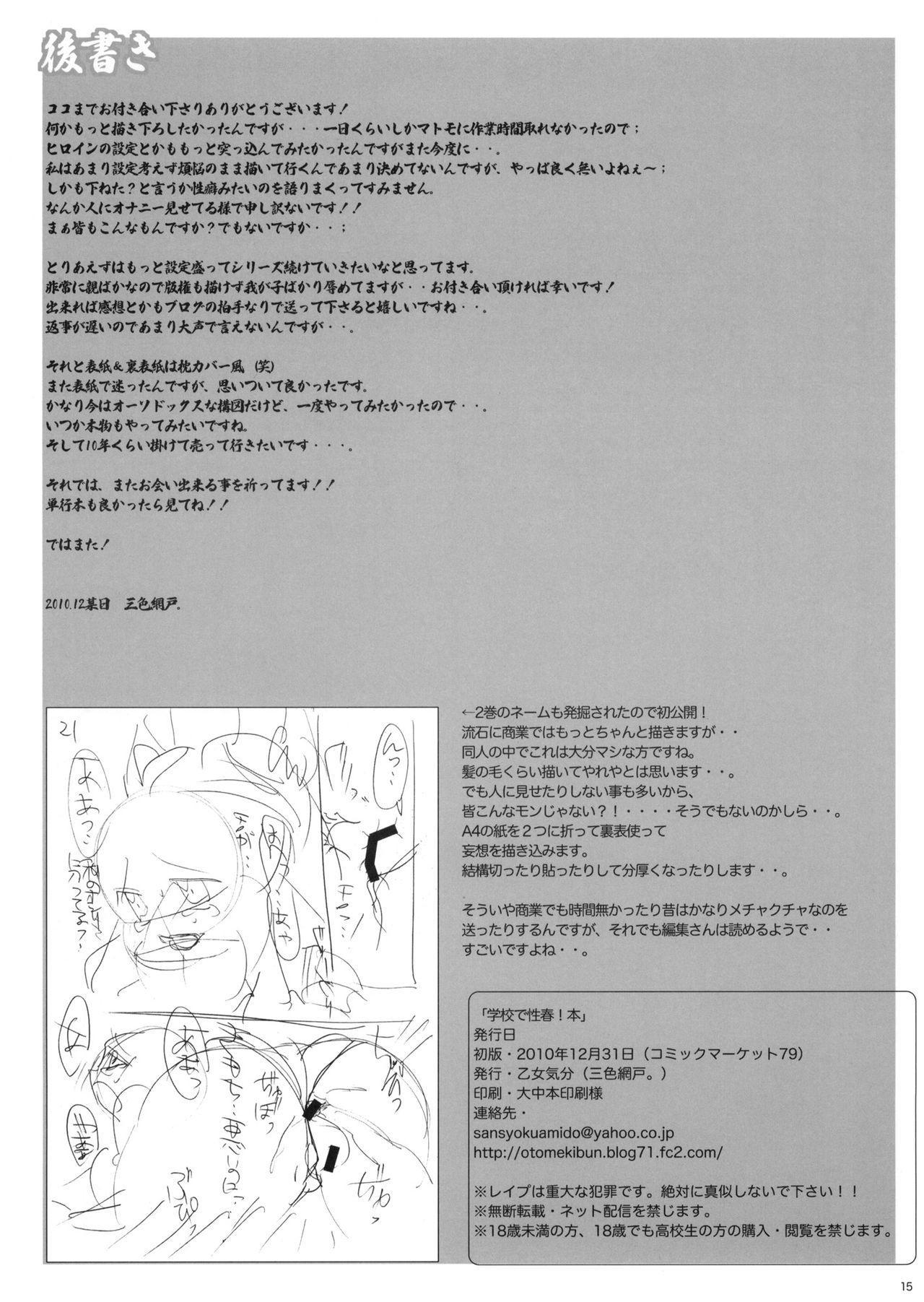 Gakkou de Seishun! Hon 14
